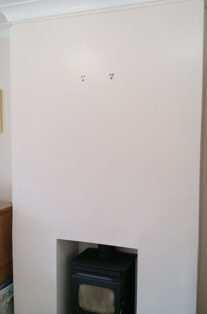 Chimney Breast, Empty Wall on Falcondale Life blog