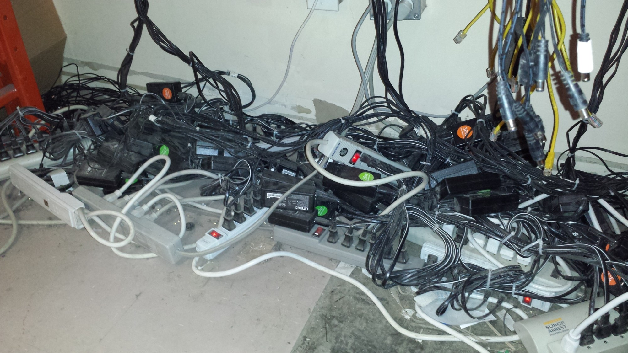 hight resolution of overloaded power strips
