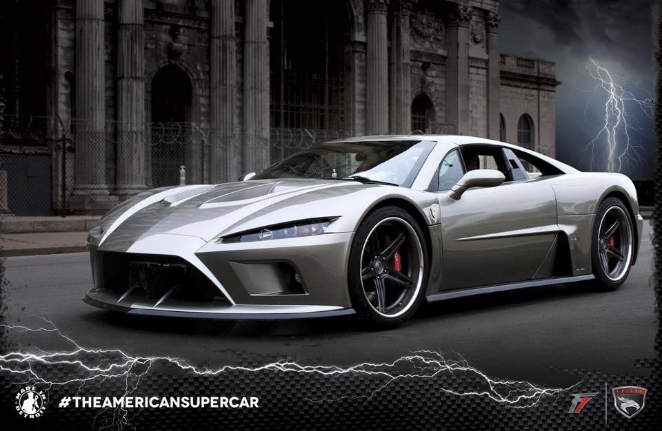 Falcon Motor Sports The American Super Car Falcon F7