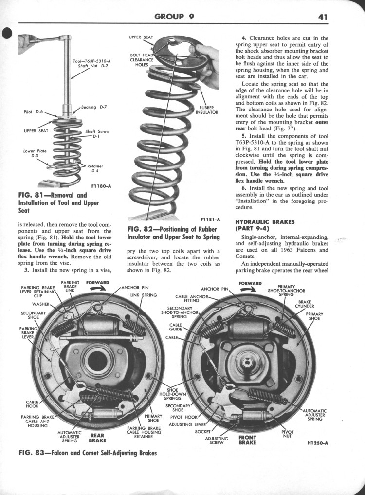 Falcon Shop Manual Supplement, 1963: Page 41