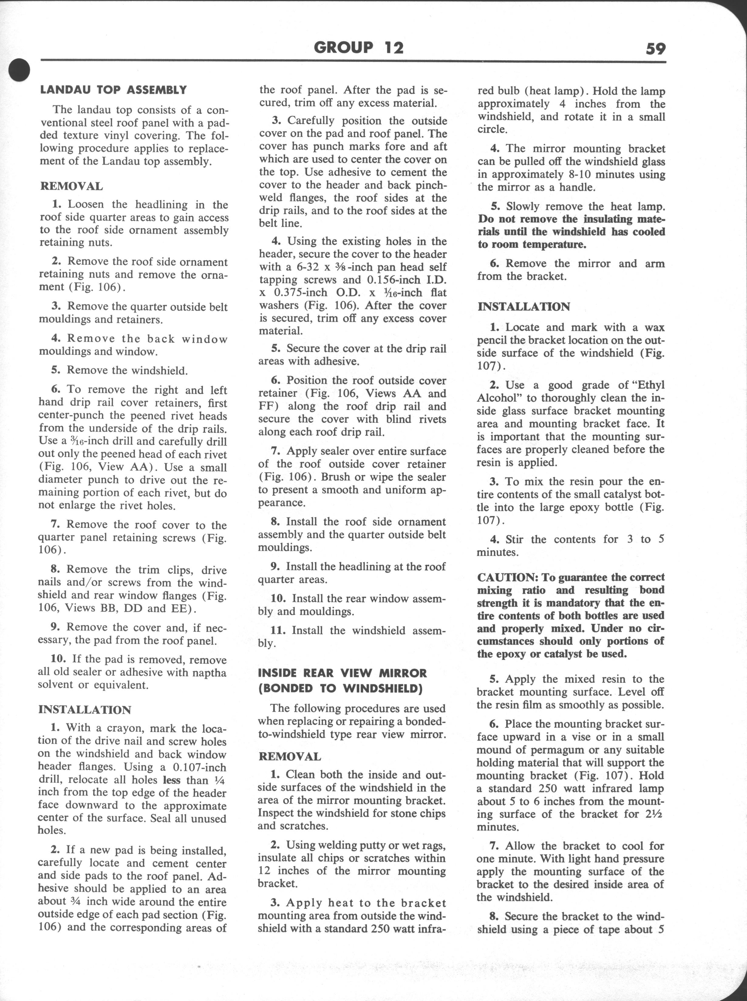 Falcon Shop Manual Supplement, 1963: Page 59