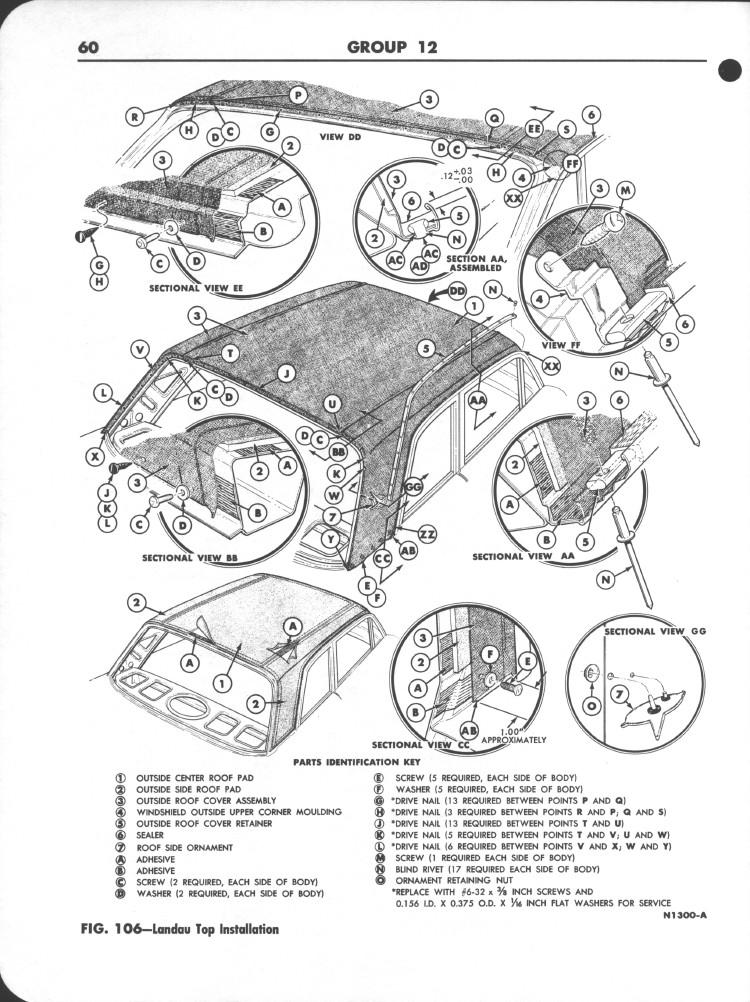 Falcon Shop Manual Supplement, 1963: Page 60