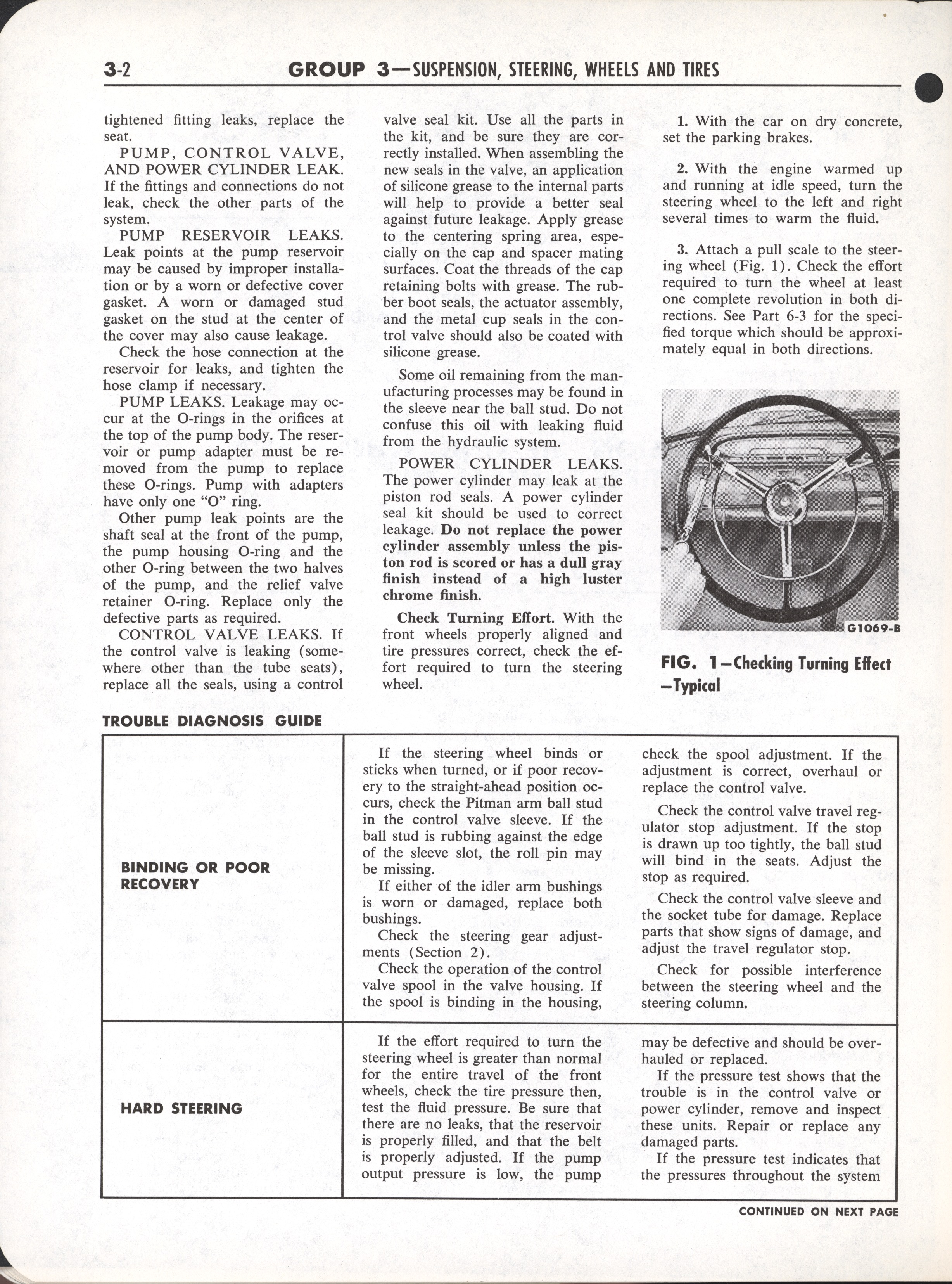 Falcon Shop Manual, 1964: Page 3-002