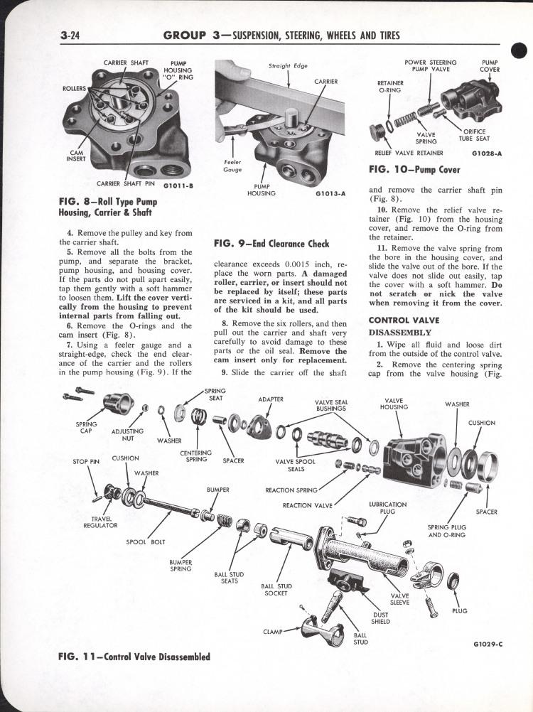 Falcon Shop Manual, 1964: Page 3-024