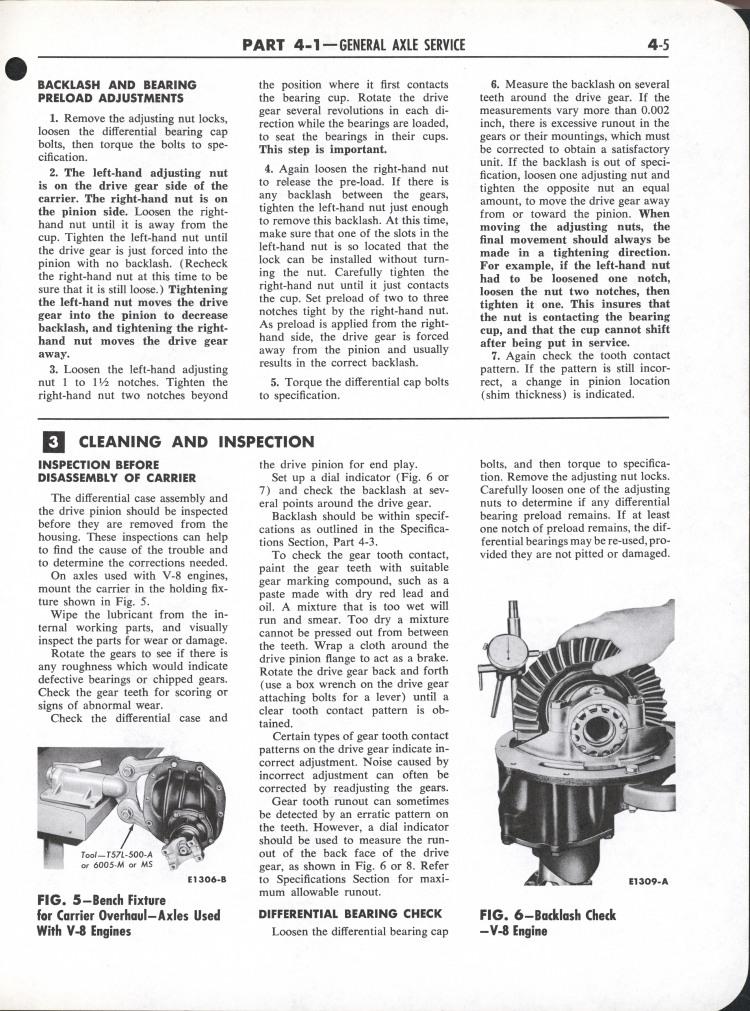 Falcon Shop Manual, 1964: Page 4-005