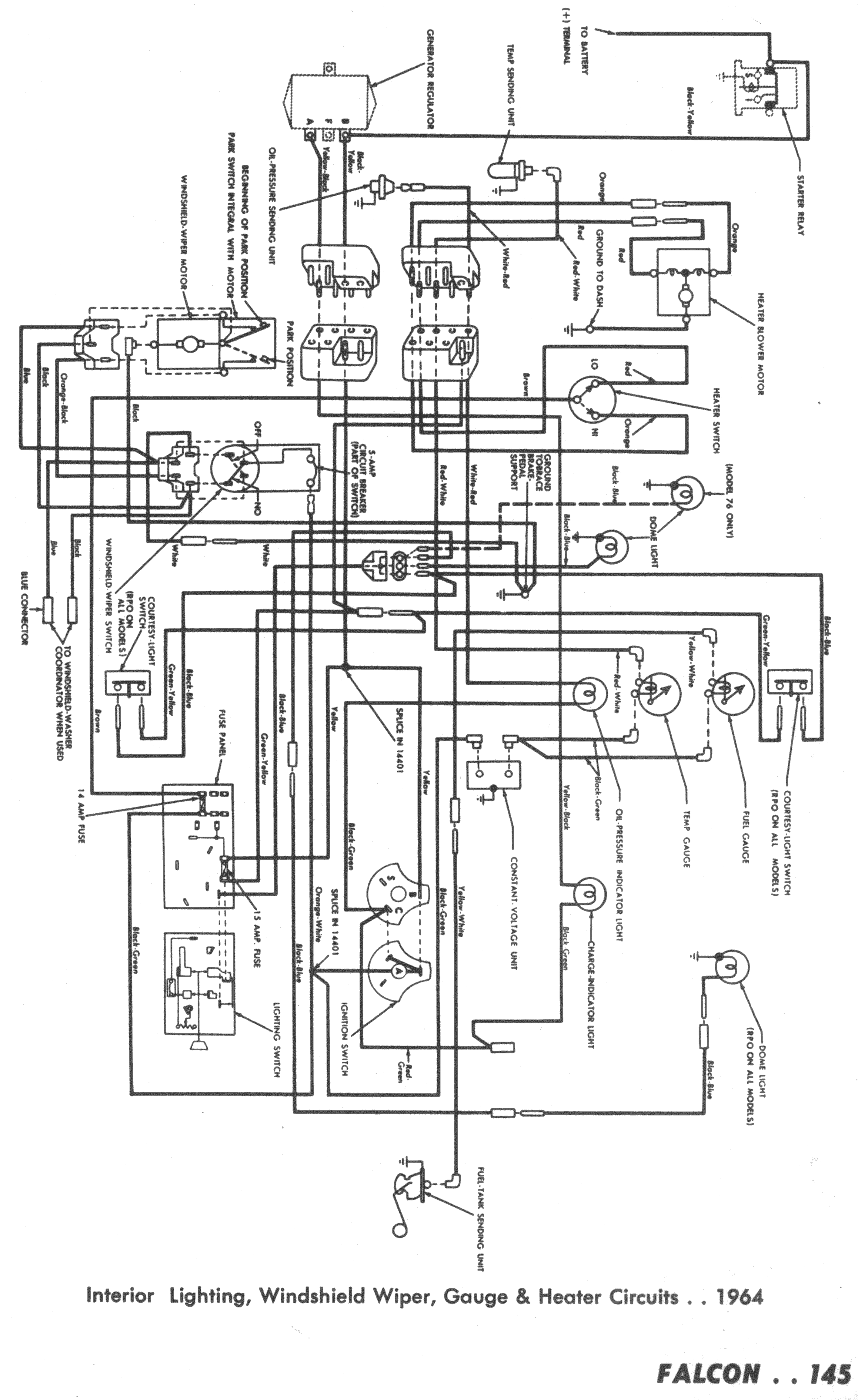 D2 Falcon Wiring Diagram