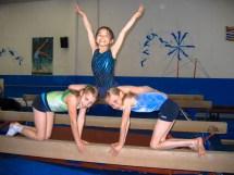 Class Girls Gymnastics Splits