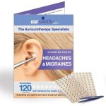 Headaches and migraines ear seeds kit