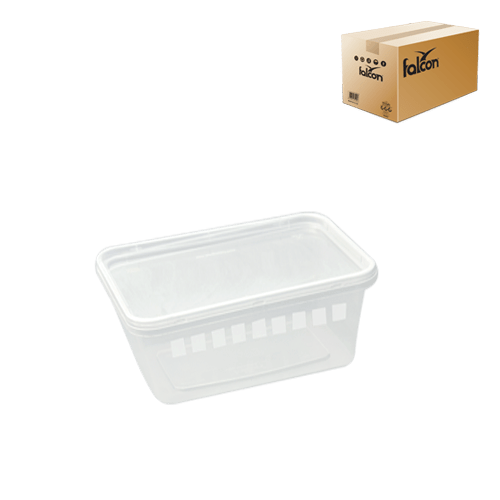 rectangle microwave container 1500 cc 1 carton x 500 pieces