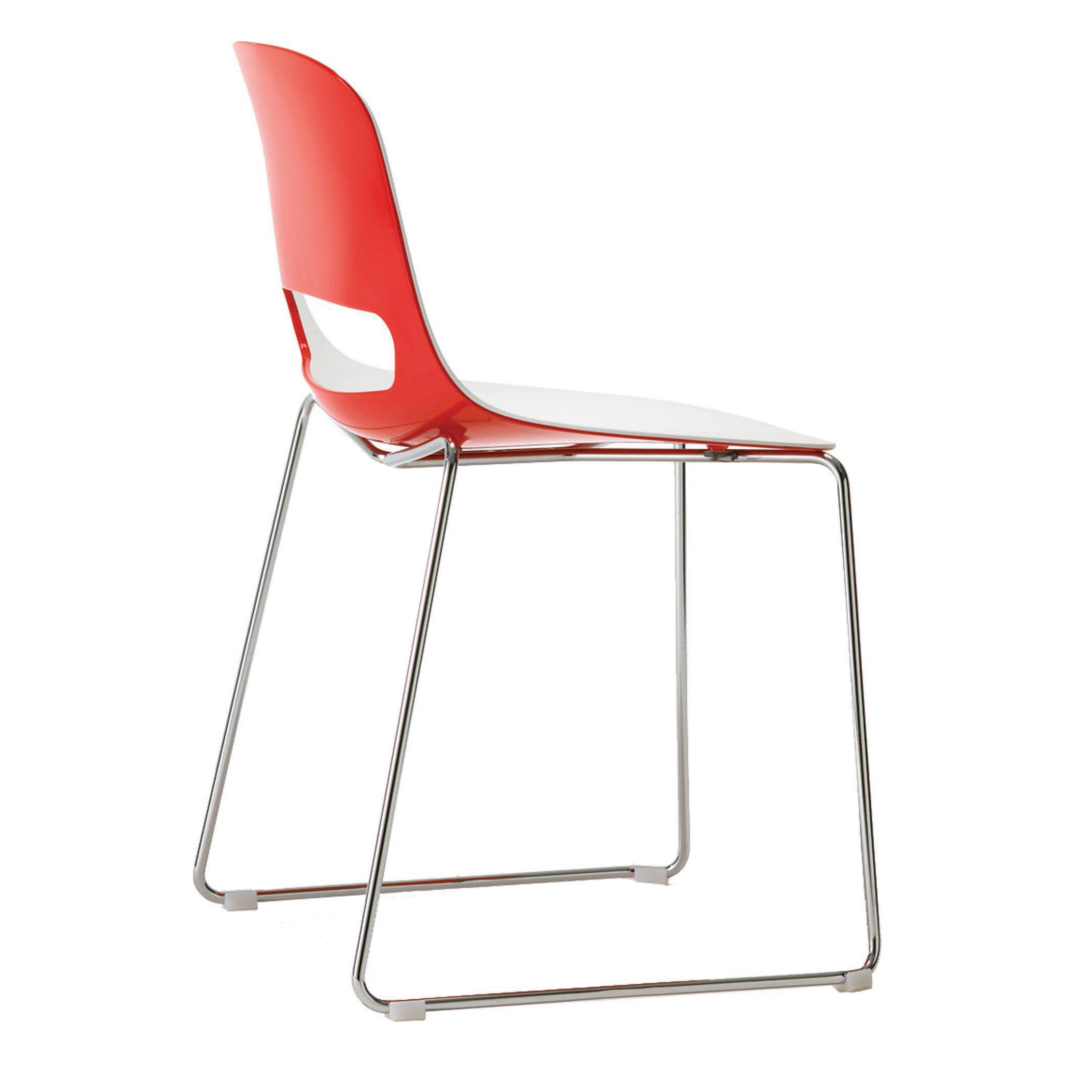 Chair Glides For Metal Chairs Gt707 Lucky Sled Base Chair