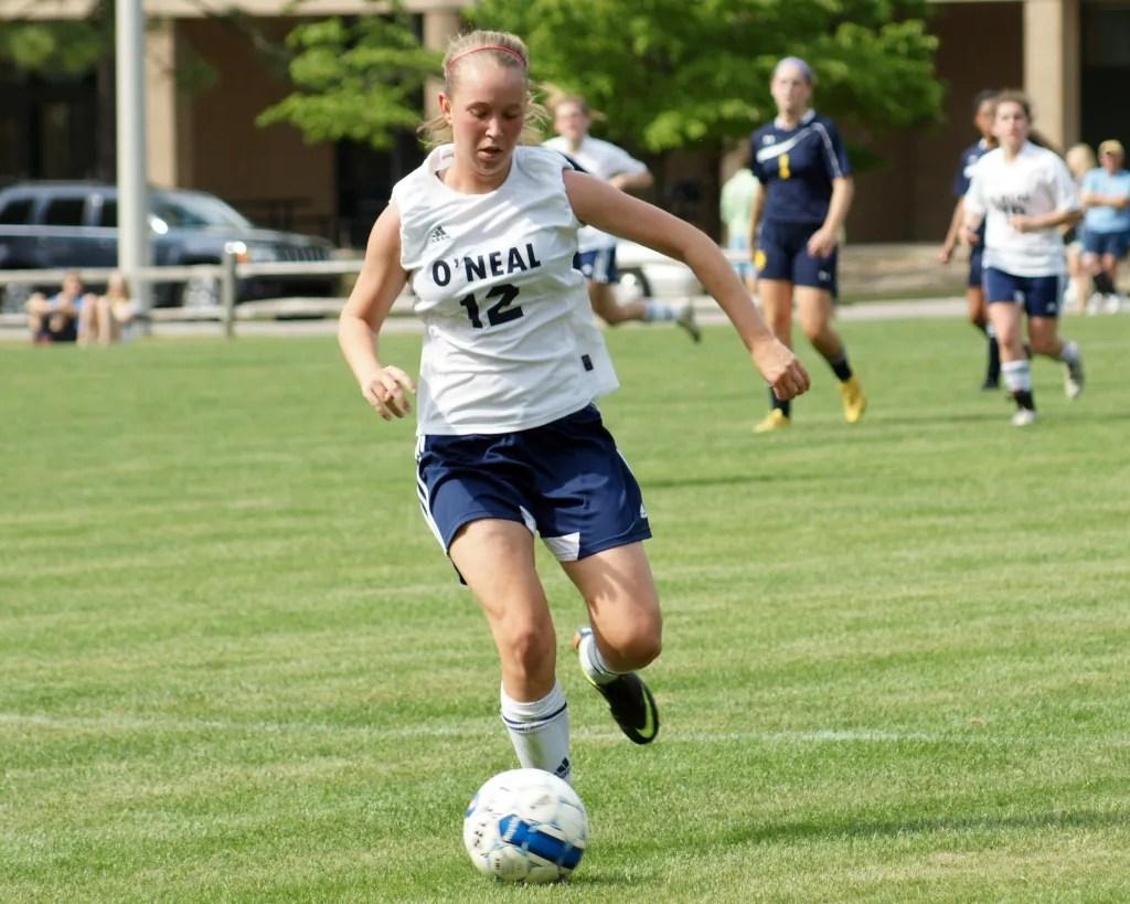 Chloe Hoffman '16 went to play soccer for Nova Southeastern University in Florida