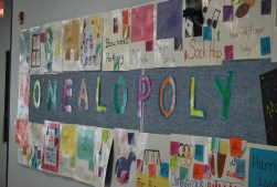 The O'Nealopoly Board in 2011.