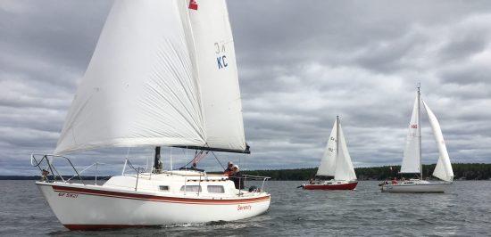 Sept Keelboat race