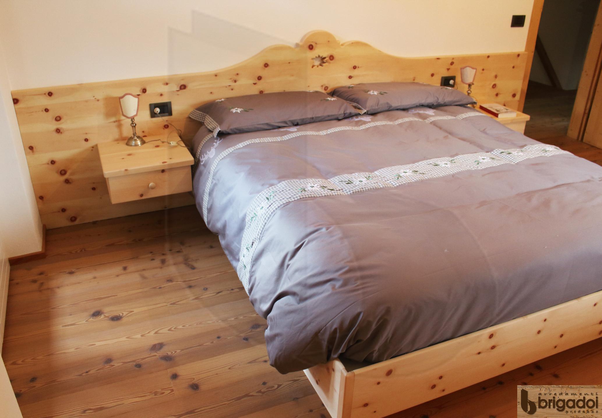 Camera legno di Cirmolo Arredamenti Brigadoi