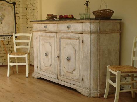 Mobili in stile provenzale lavori eseguiti dalla falegnameria Biagioni  Firenze