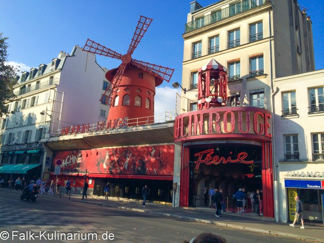 Das Moulin Rouge in Paris