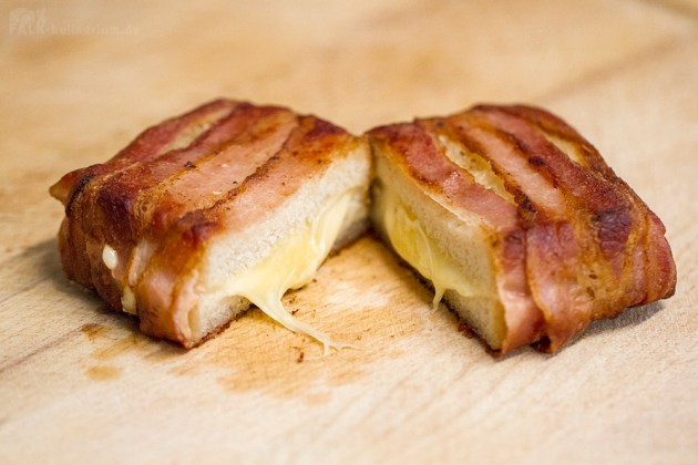 Bacon Cheese Sandwich