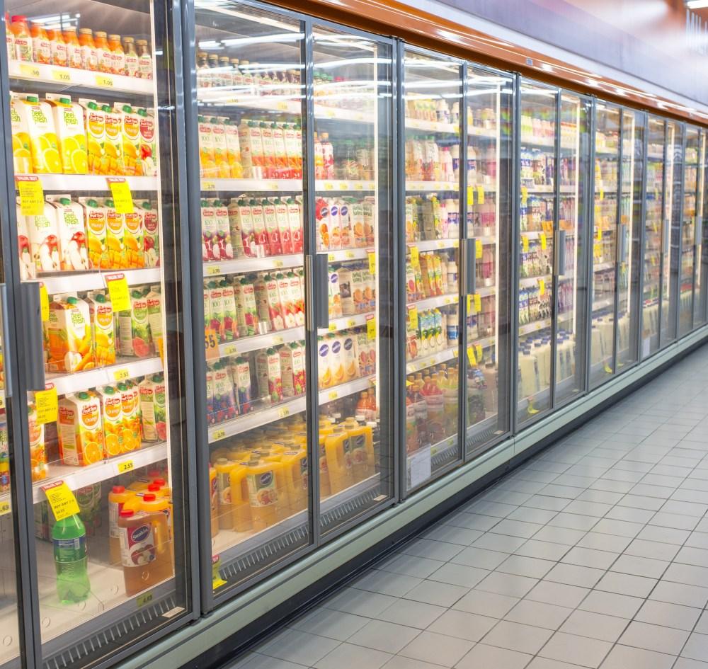 medium resolution of glass door refrigerator