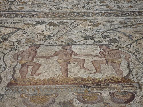 Exempel på mosaiker i Merida