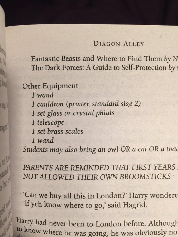 Harry Potter Typo Misspelled