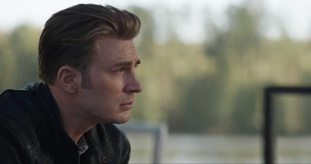 Captain America in the Avengers End Game