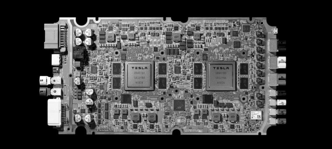 New Tesla Chip