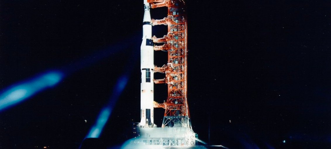 Apollo 11 Lunar Mission before launch in 1969