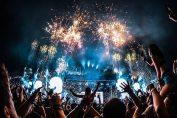 Fireworks at Tomorrowland 2019
