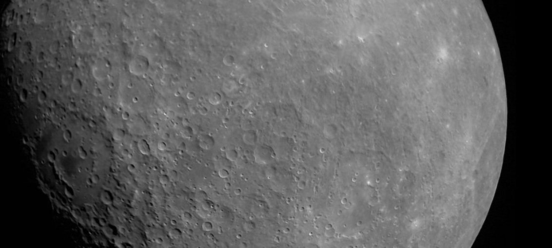 Image of the Moon captured by Chandrayaan 2 Orbiter