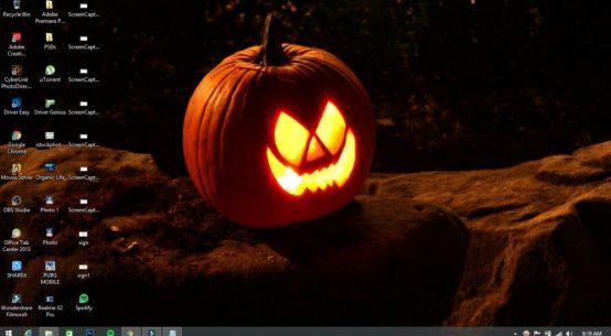Halloween theme for windows 10