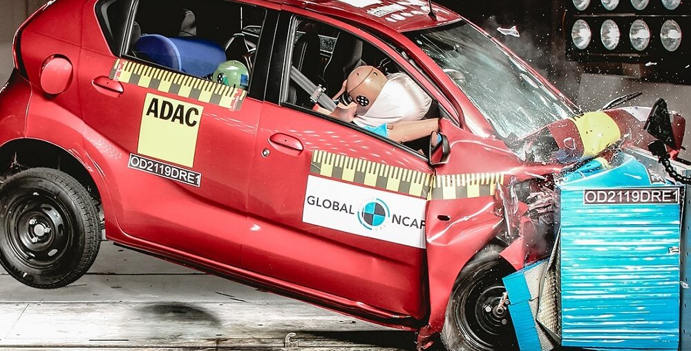 Datsun Redigo 2019 in Global NCAP Car Crash test