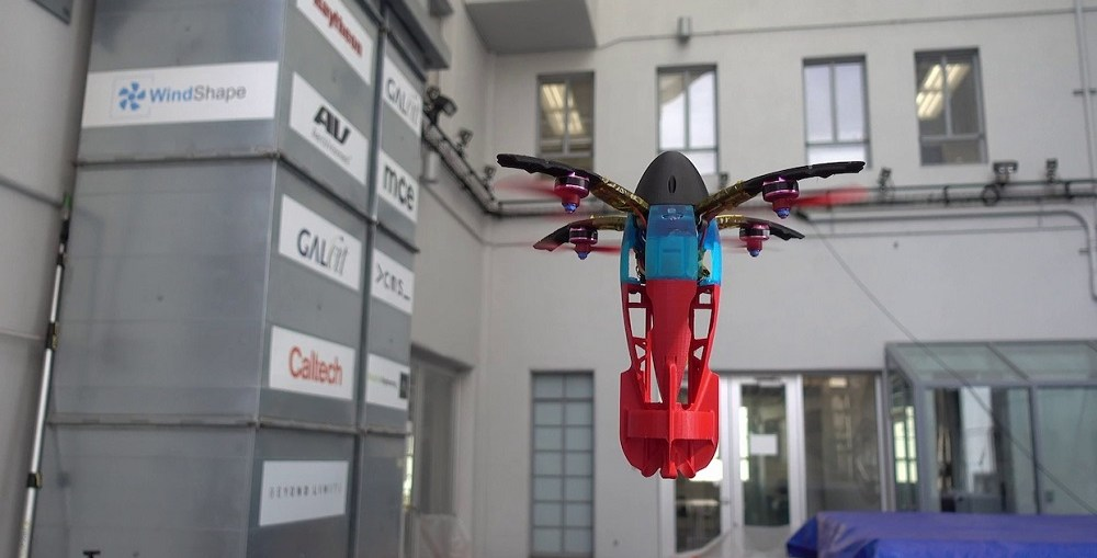 Caltech and NASA JPL developed SQUID Transforming Drone