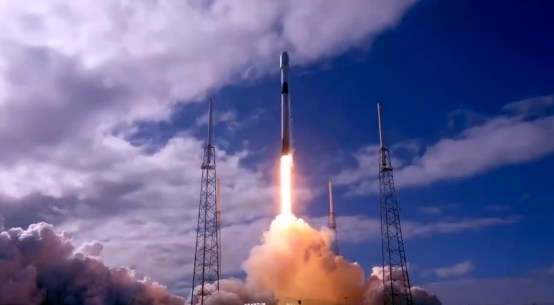 SpaceX launches using Falcon 9 rocket with 60 Starlink satellites