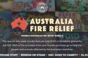Australia Fire Relief Bundle at Humble Bundle