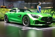 Mercedes Benz AMG GTR at the Auto Expo 2018