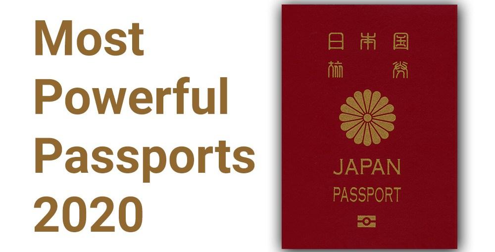 Most Powerful Passports 2020