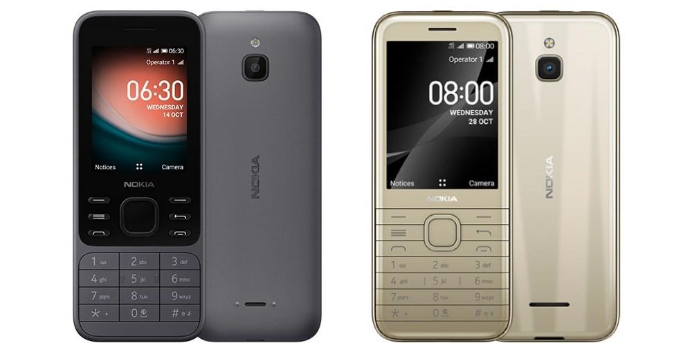 Nokia 6300 4G and Nokia 8000 4G