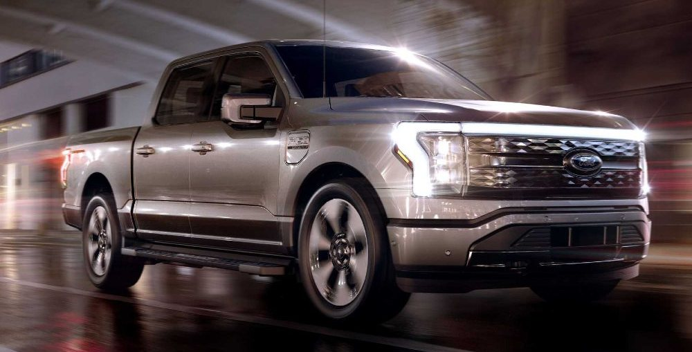 Ford F-150 Lightning Electric Pickup Truck