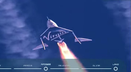 Virgin Galactic successfully sends Richard Branson and 5 others to the Space