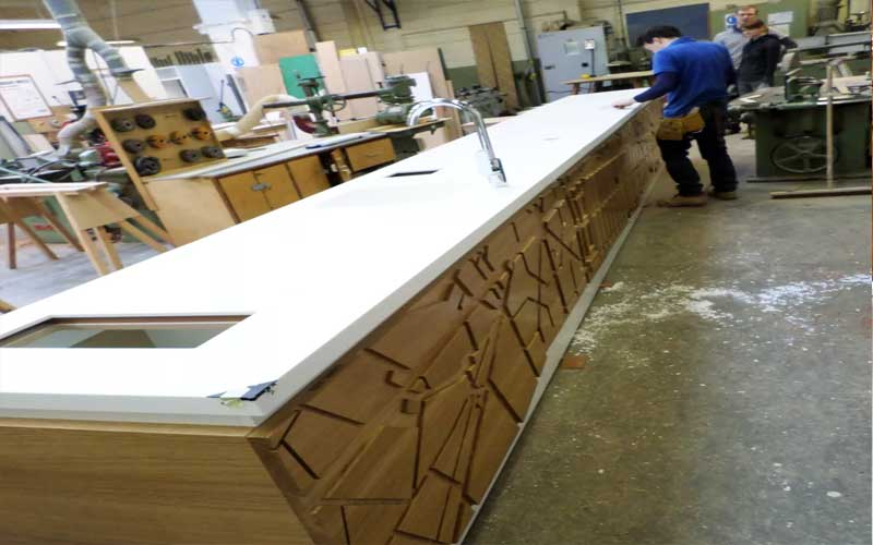 Joinery-coffee-bar-in-the-workshop