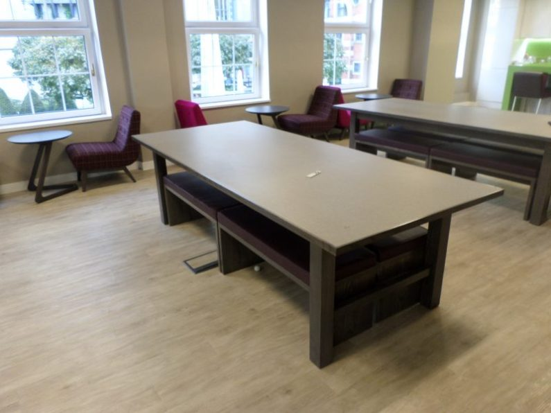Handmade joinery canteen dining benches