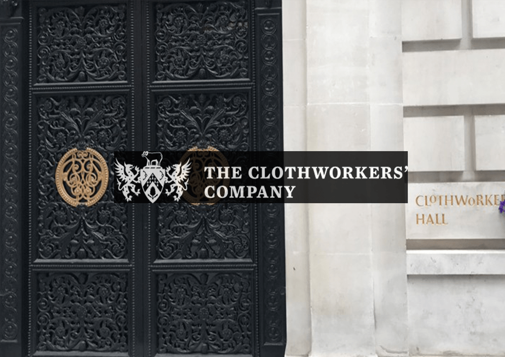 Clothmakers hall images and logo 1000x706
