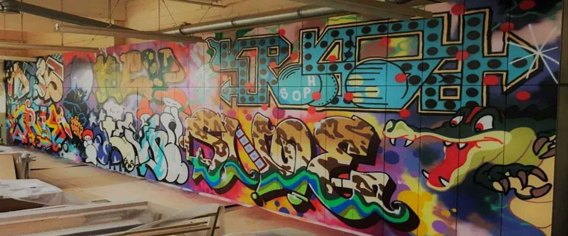 Joinery-workshop-graffiti-wall