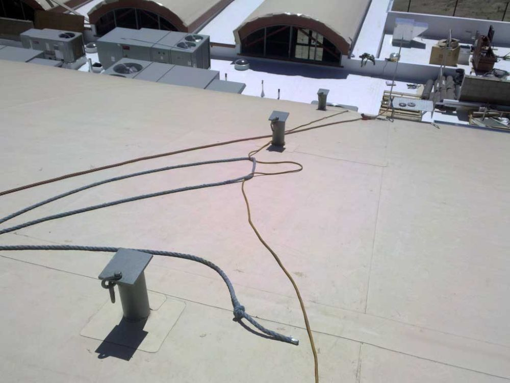medium resolution of  fall roof anchors sloped roof