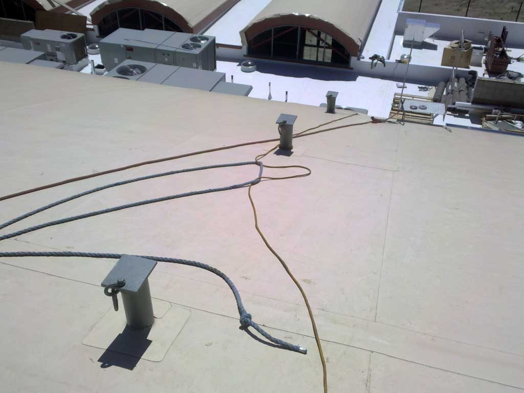 hight resolution of  fall roof anchors sloped roof