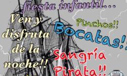 Próximo día 15 de junio !! Después de la tarde pirata.Los mejores pinchos,sangría Pirata y bocadillos!!