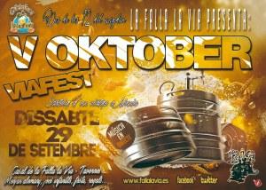 La Falla la Via prepara la seua Oktober Viafest.