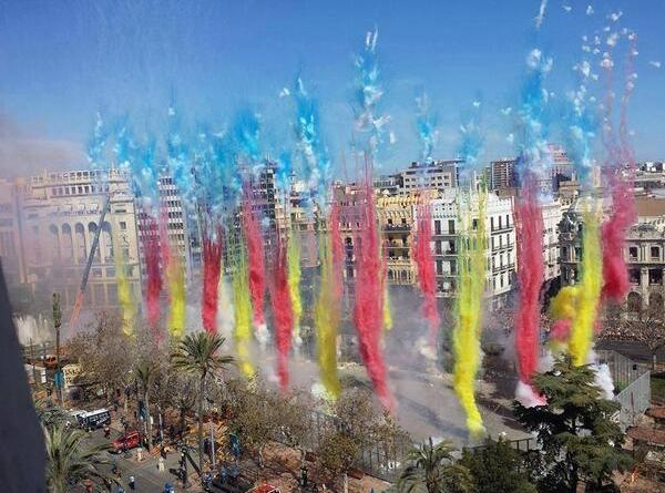 Mascletas Fallas 2019