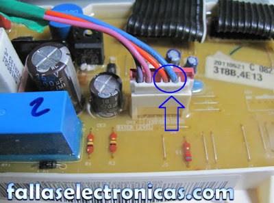 tarjeta electrónica de lavadora samsung