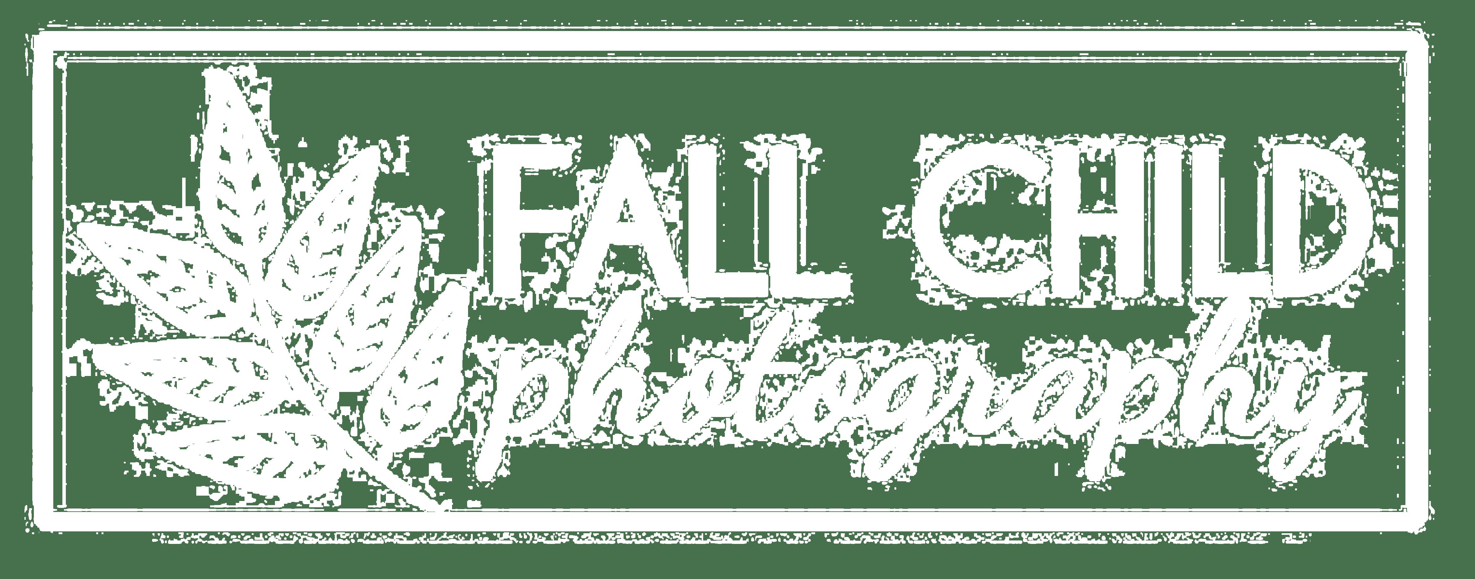 Fall Child Photography